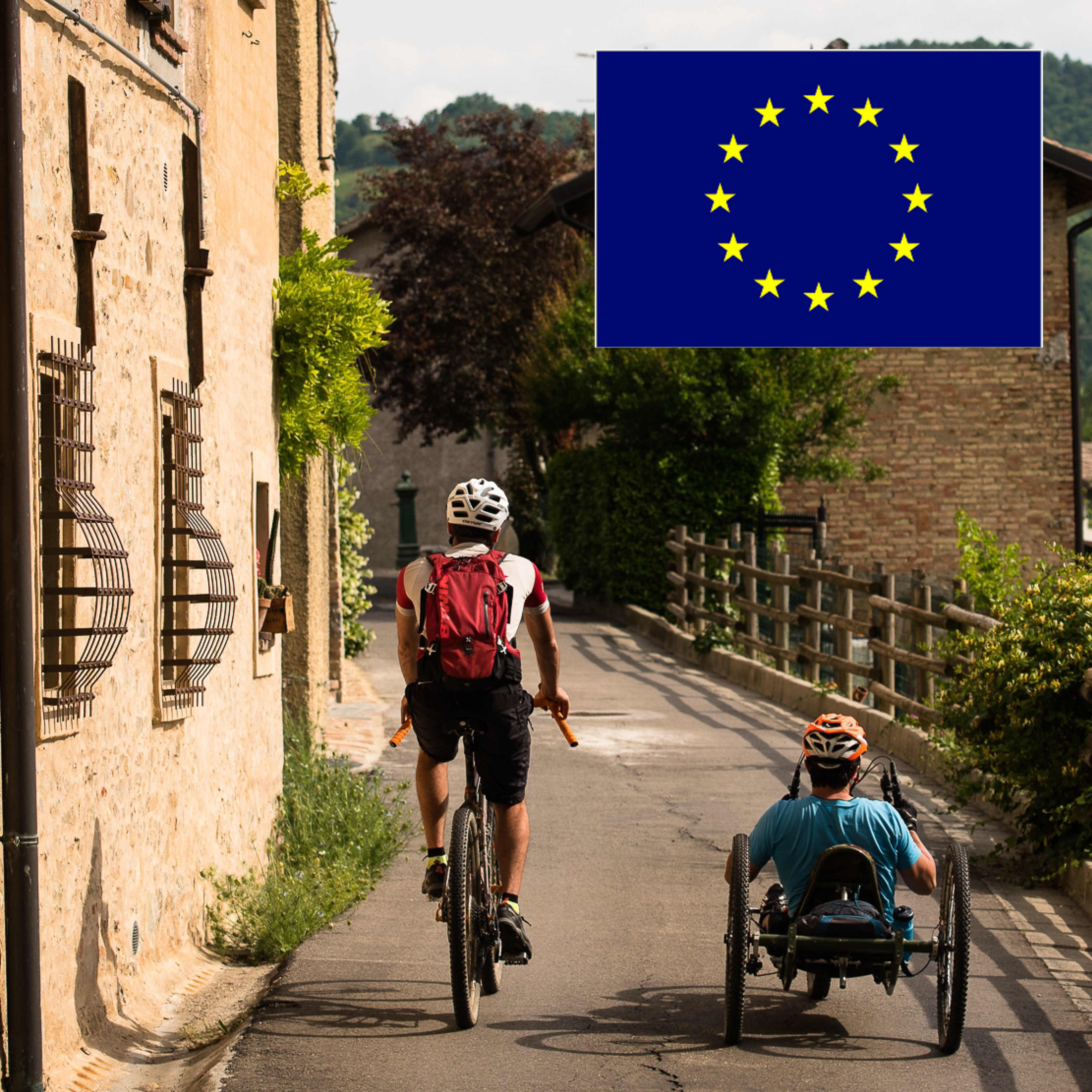 WE BIKE TOGETHER – TRAINING AND TRAIL MAPPING IN EUROPE